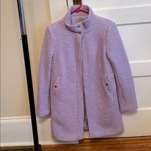 Violet purple loft coat
